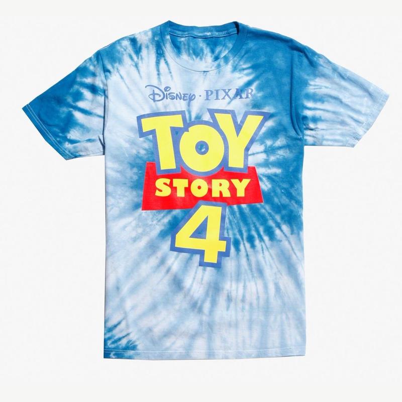 トイストーリー4 タイダイ染め ロゴ  Tシャツ