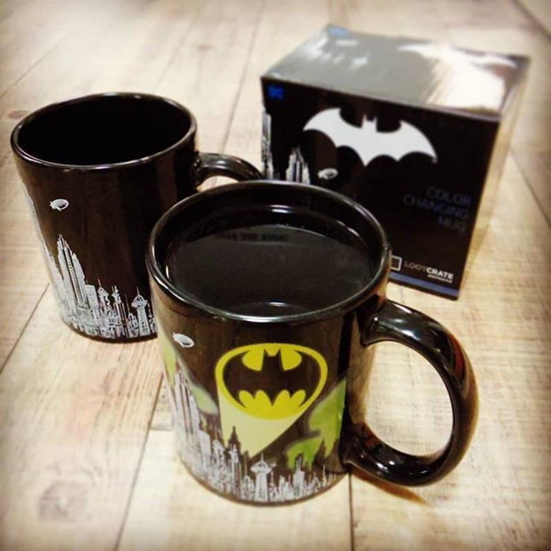 【特価!】バットマン 温度で柄が変わる ヒートチェンジ マグカップ