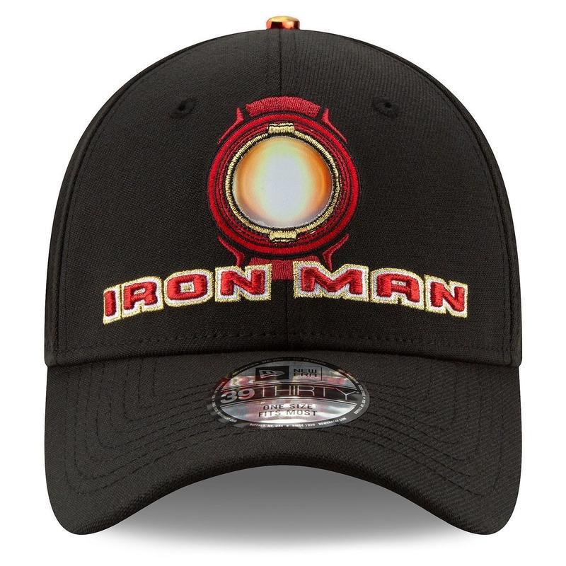 マーベル『アイアンマン』10周年 クルー キャップ ニューエラ 39Thirty