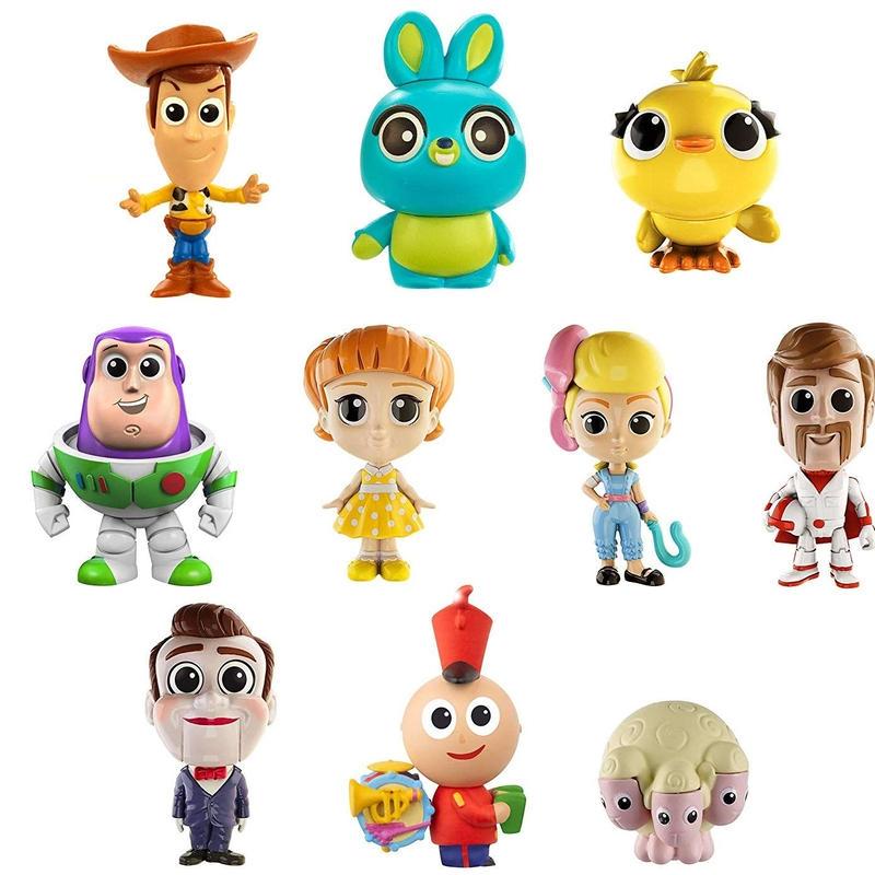 トイストーリー4  マテル社 アルティメット ニューフレンズ10パック Toy Story 4 Minis Ultimate New Friends 10-Pack