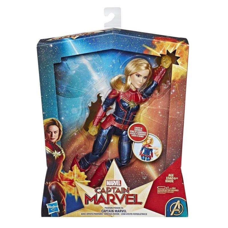 マーベル『キャプテン・マーベル』エレクトロニック・スーパーヒーロードール Captain Marvel Movie  Captain Marvel Electronic Super Hero Doll