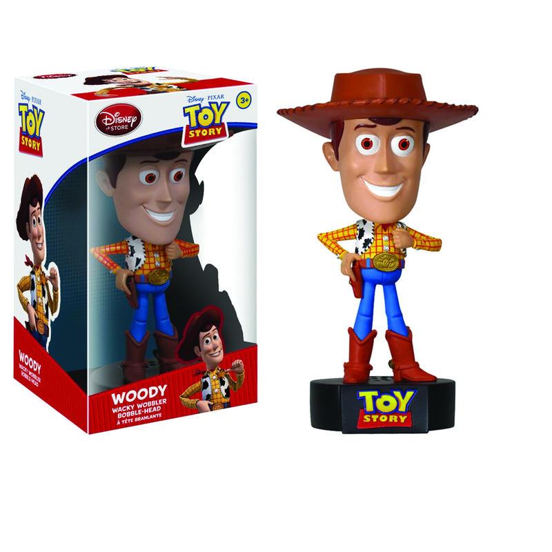 2011年 ファンコ ワッキーワブラートイストーリー ウッディ(トーキング機能付)  Funko Wacky Wobbler Toy  Story Woody