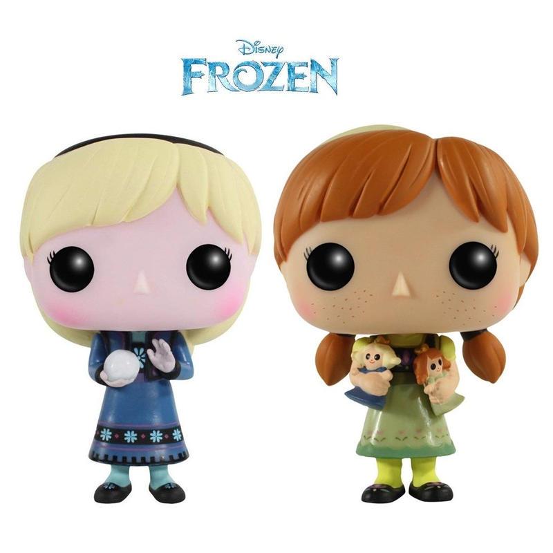 ファンコ  ポップ   Funko POP!『アナと雪の女王』幼少期版 エルサ & アナ 2体セット   Disney  Frozen -  Young  Elsa & Young Anna