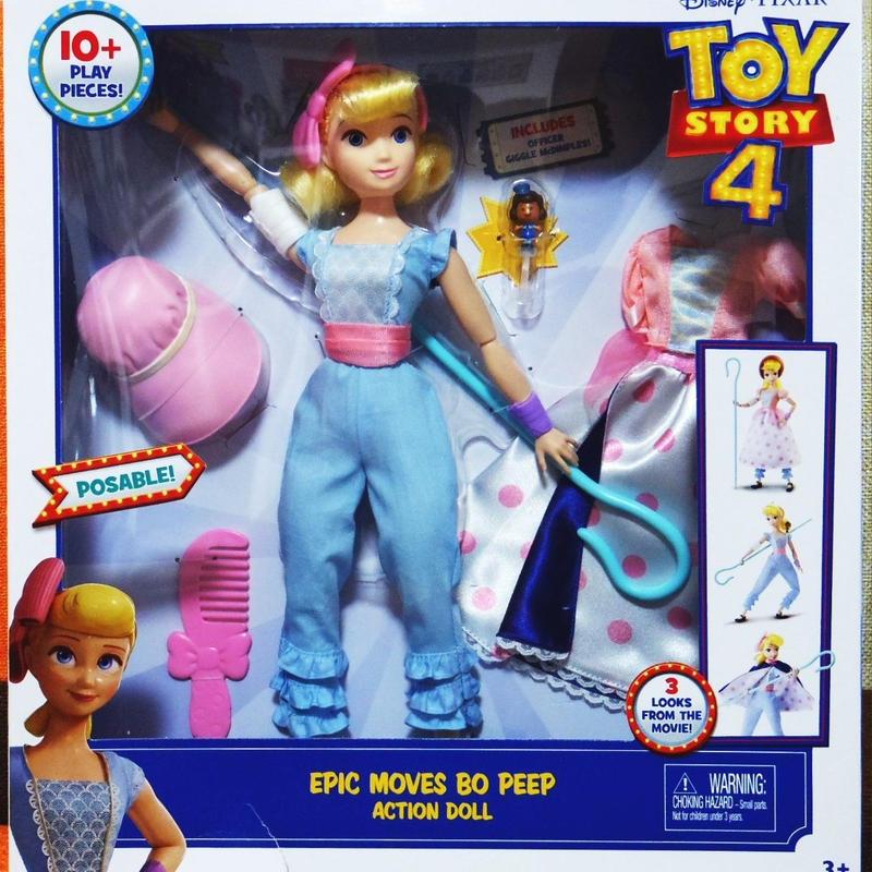 トイストーリー4 ボー・ピープ エピック ムーブス ドール Toy Story 4 Bo Peep Epic moves doll