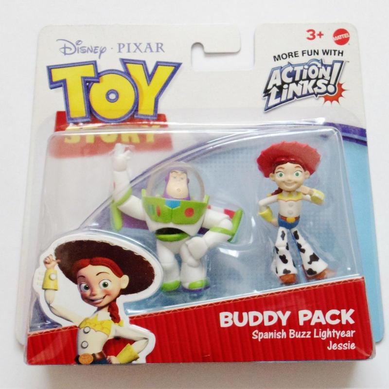 2010年 トイストーリー  バディパック シリーズ バズライトイヤー/ジェシー TOY STORY Mattel Budy Pack  Spanish Buzz Lightyear/Jessie
