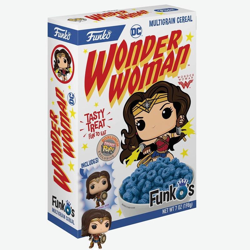 ファンコ『ワンダー・ウーマン 』ポケット ポップ入り シリアル FunkO's Cereal With Pocket Pop! Wonder Woman