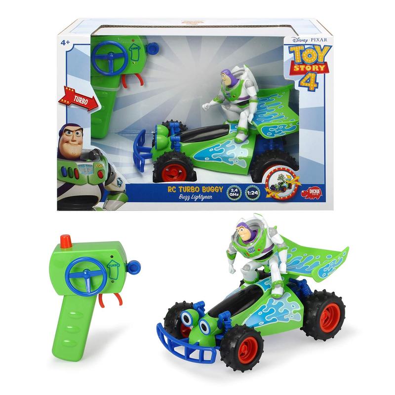 トイストーリー4  ラジオコントロール RC ターボ・バギー with バズ・ラトイヤー  Toy Story 4   RC TURBO BUGGY Buzz Lightyear