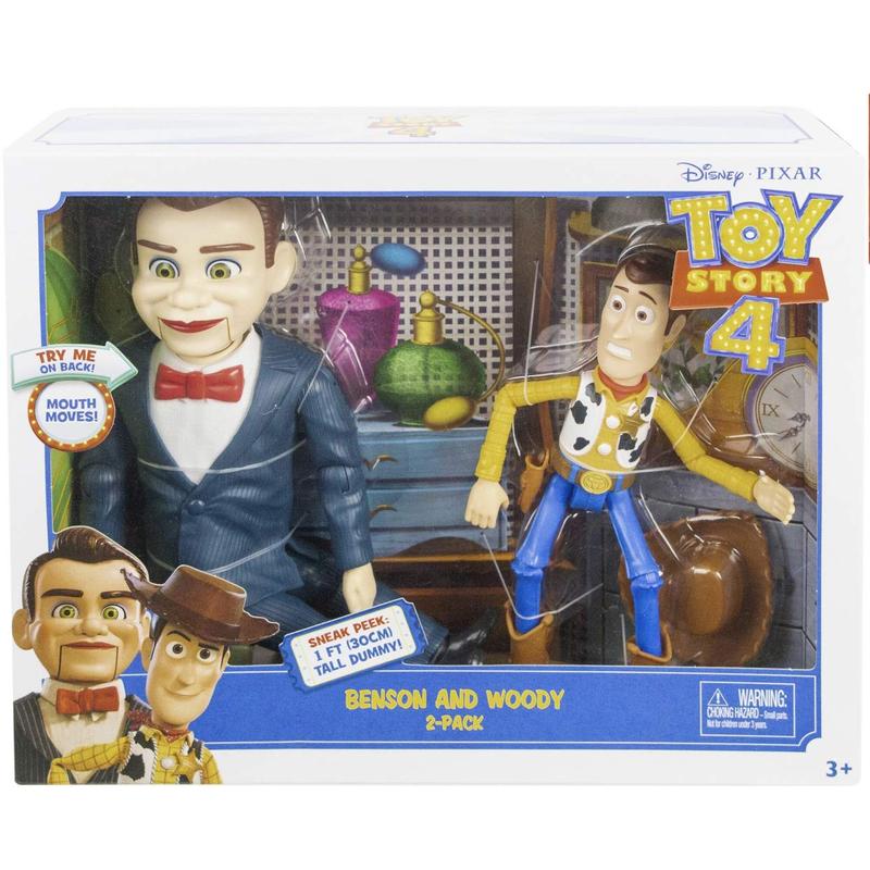 トイストーリー4 ベンソン&ウッディ  Toy Story 4  Benson & Woody