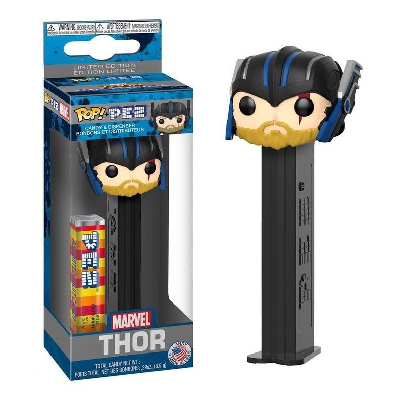 限定 ファンコ ポップ x ペッツ マーベル 「マイティ・ソー バトルロイヤル」  FUNKO POP x PEZ  Marvel  Thor Ragnarok