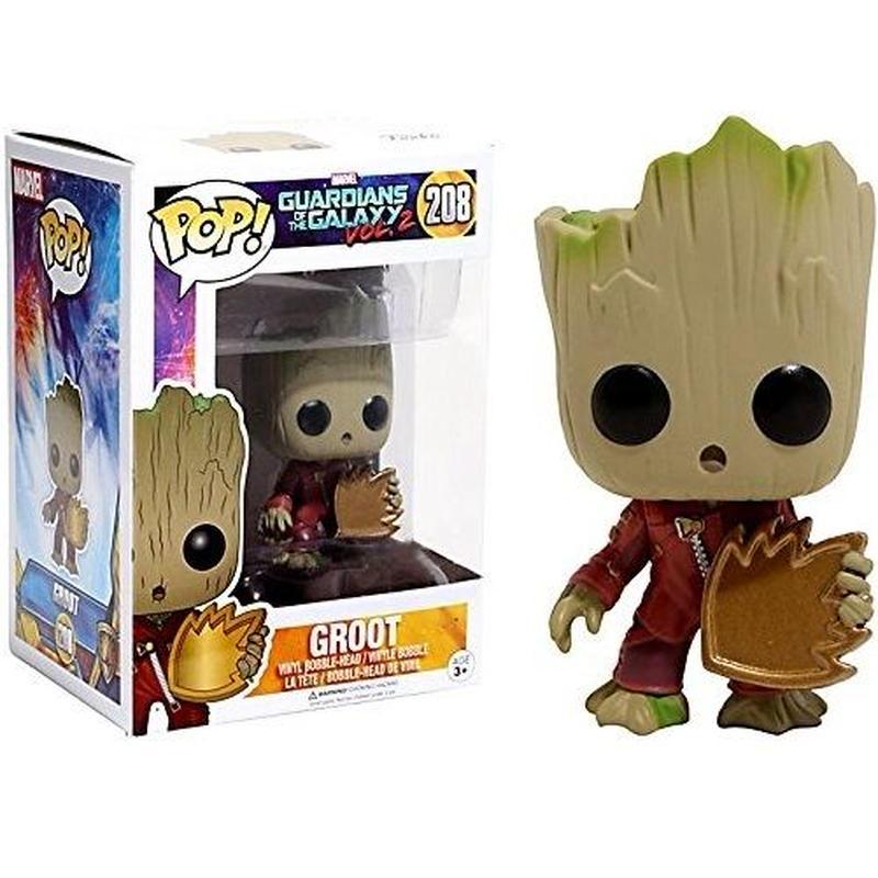 ファンコ ポップ FUNKO POP! ガーディアンズ・オブ・ギャラクシー・リミックス   グルート Guardians of The Galaxy Vol. 2- Groot  #208