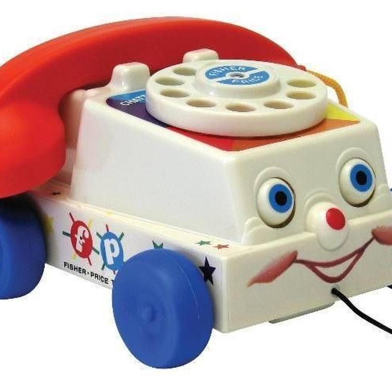 フィッシャープライス クラシック チャッター・テレホン Fisher Price Classic Chatter Telephone