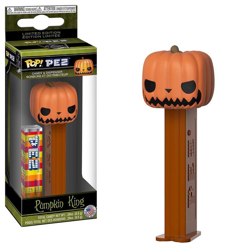 ファンコ ポップ x ペッツ『ナイトメア・ビフォア・クリスマス 』パンプキン・キング FUNKO POP x PEZ  Nightmare Before Christmas  Pumpkin King