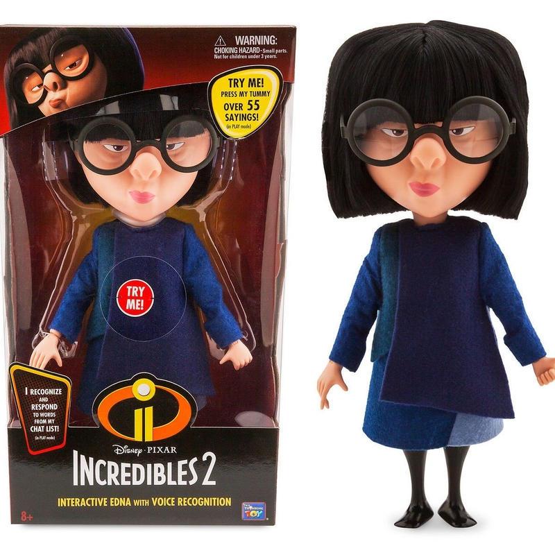インクレディブル・ファミリー インタラクティブ エドナ The Incredibles 2   Interactive Edna Action Figure
