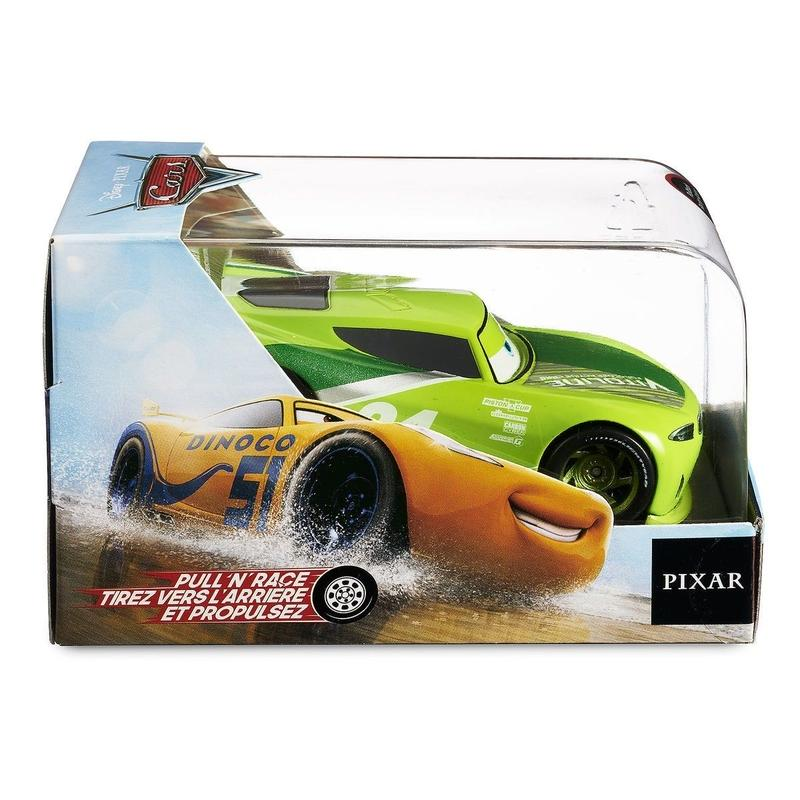 ディズニー・ピクサー カーズ   CARS 1/43  Pull 'N' Race Die Cast Car   Chase Racelott