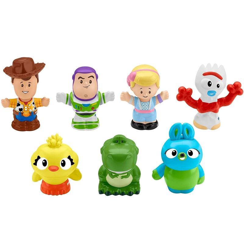 トイストーリー4 フィッシャープライス リトルピープル7パック  Toy Story 4 Fisher-Price Little People 7 Figure Pack