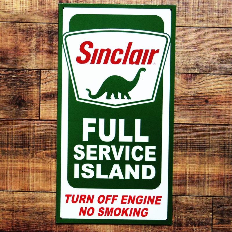 Sinclair Dino Gasoline ティン・プレート
