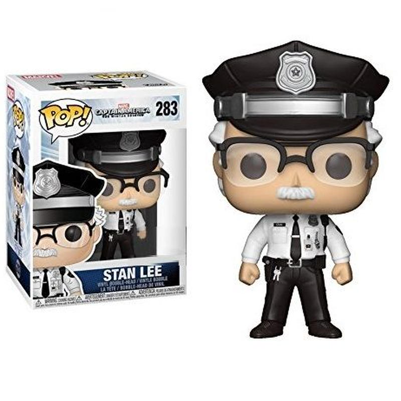ファンコ ポップ  スタン・リー「キャプテンアメリカ/ウィンター・ソルジャー」 Funko Pop! Stan Lee  -Captain America: The Winter Soldier-