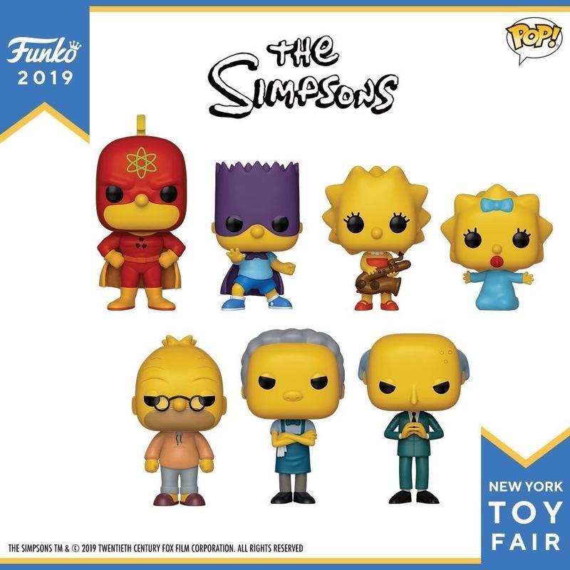 ファンコ ポップ  ザ・シンプソンズ 7種セット Funko Pop The Simpsons Set of 7