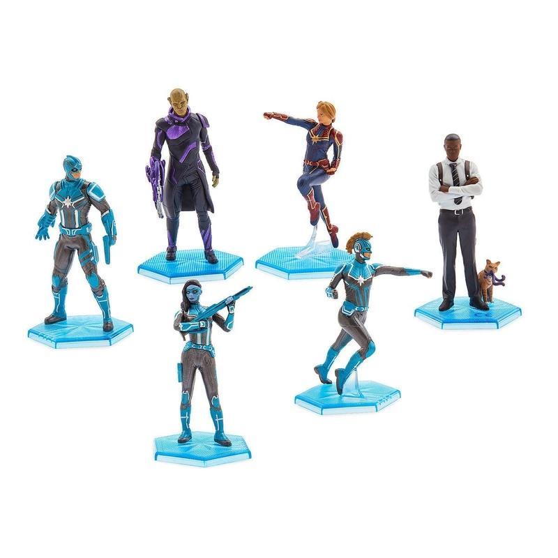 マーベル  『キャプテン・マーベル』 フィギュアセット  Marvel's Captain Marvel Figure Set