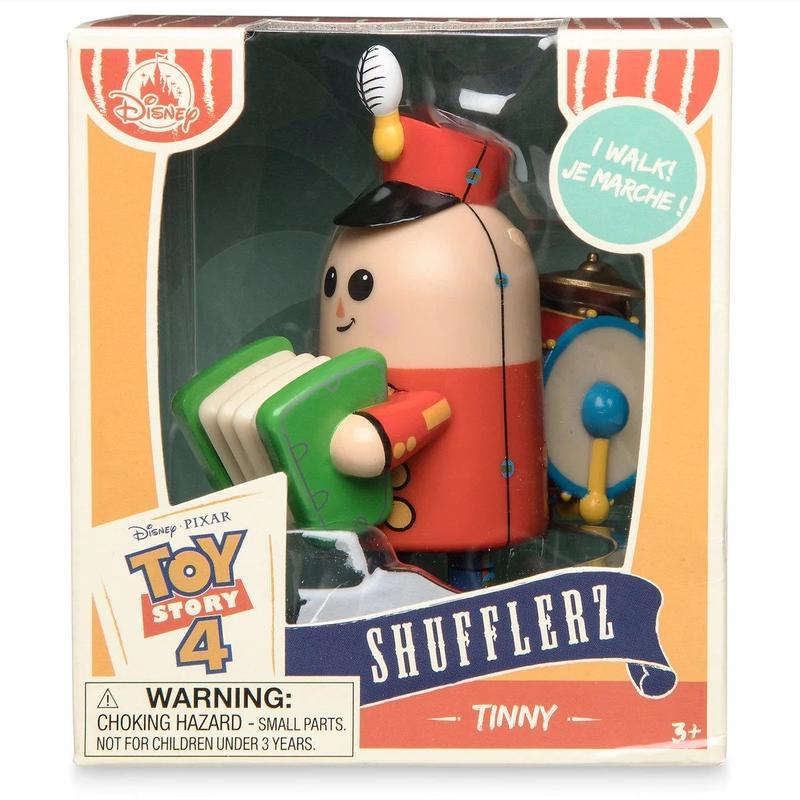 トイストーリー4 ぜんまいトイ  ティニー Shufflerz Walking Figure   Tinny