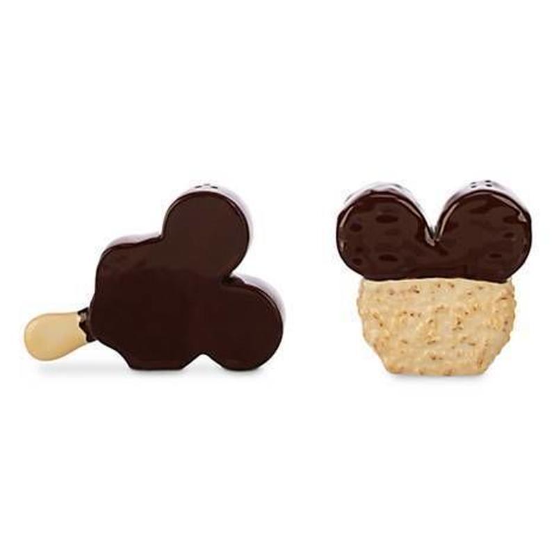 アメリカDisney Parks 限定 ミッキーマウス アイスクリーム型 ソルト&ペッパー Mickey Mouse Icon Food Salt and Pepper Set