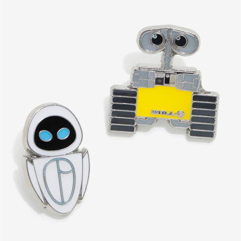 ディズニー ピクサー ウォーリー WALL-E  ピンズ  ピンバッジ  2個セット