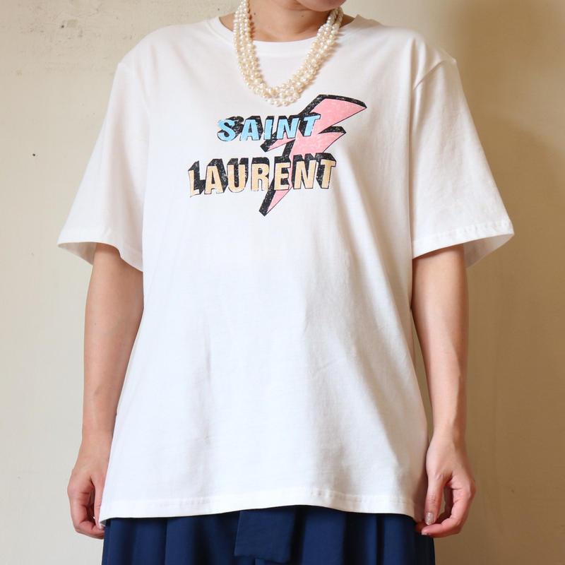サンローランパロディTシャツ