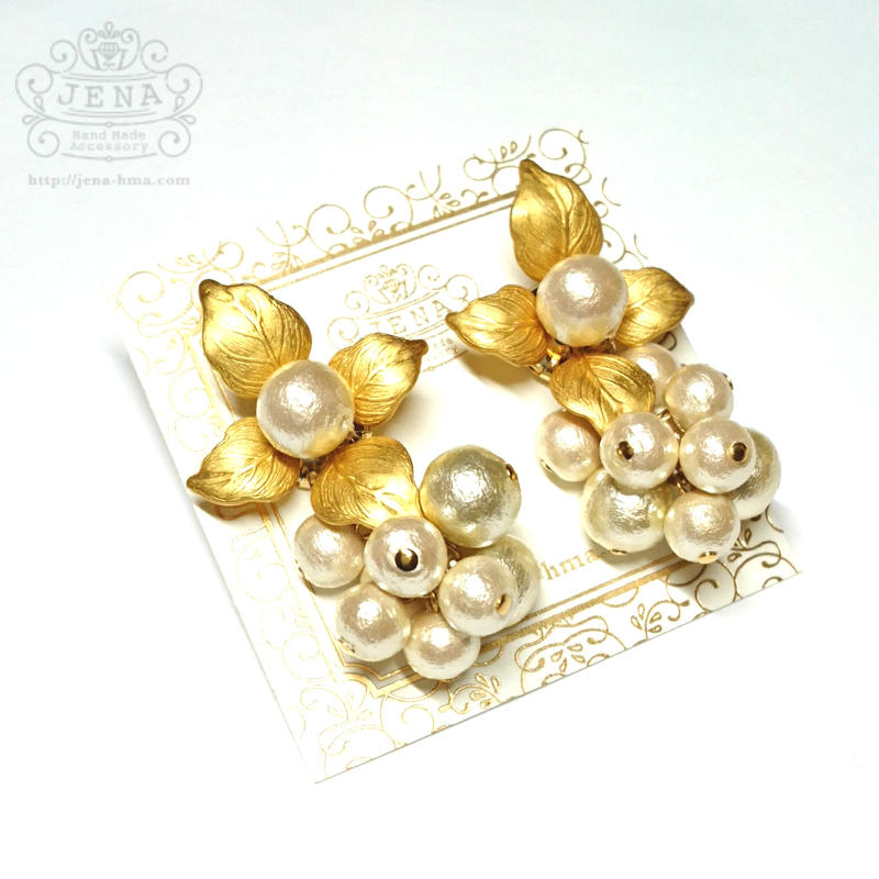 GALLE casual Pearl イヤリング/ピアス