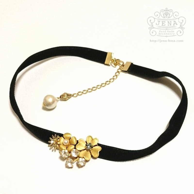 Classical Choker 【crystal】