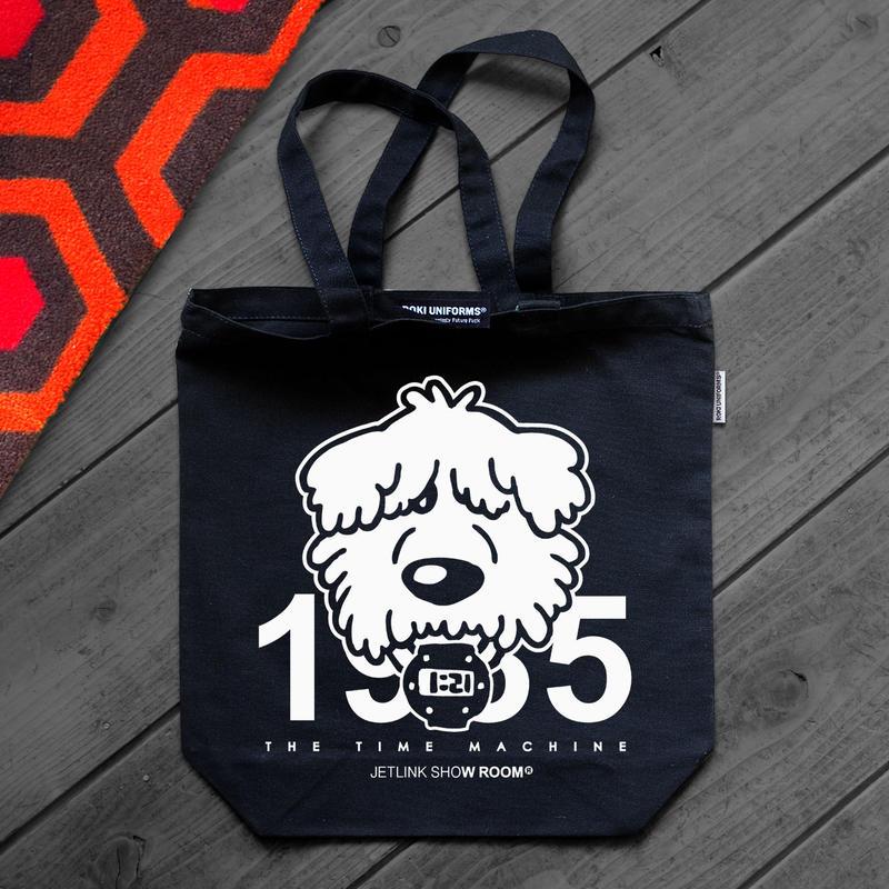 【お年玉特典】受注商品を2点ご予約で、タイムマシーン1985特製トートバッグを無料プレゼント!