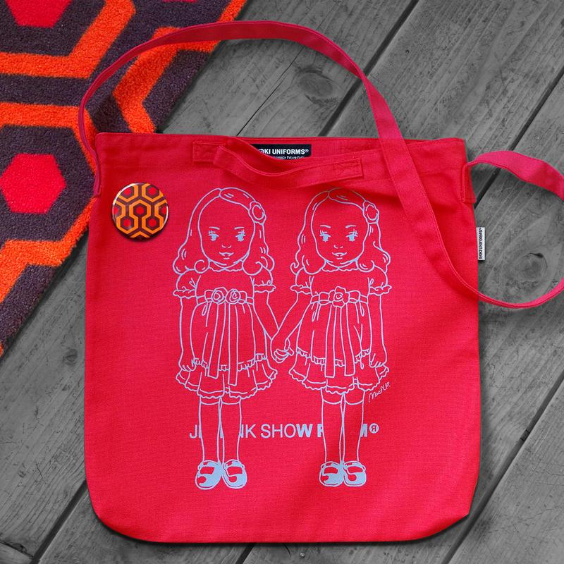 THE OVERLOOK TWINS SHOULDER BAG/RED