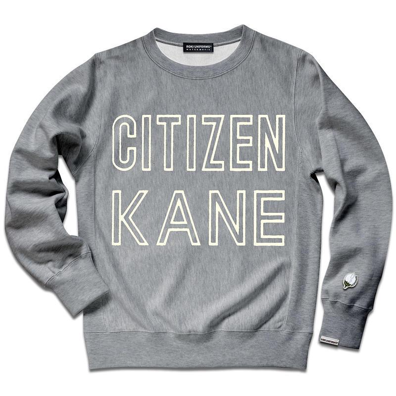 【ひび割れ仕様の最新版!】CITIZEN KANE SWEAT SHIRTS