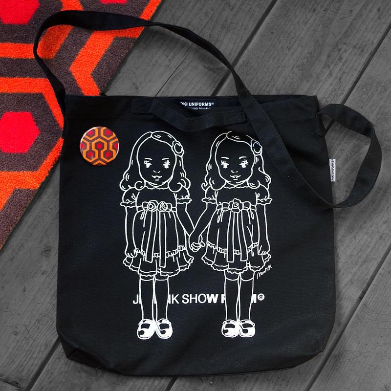 THE OVERLOOK TWINS SHOULDER BAG/BLACK