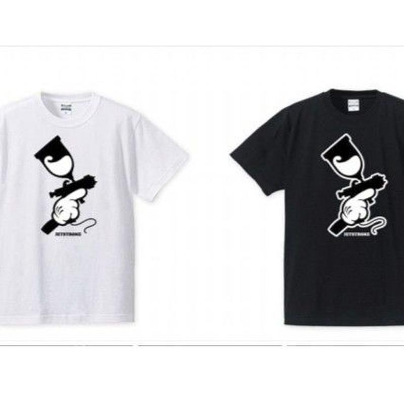 Three finger spray Tshirt(スリーフィンガースプレーティーシャツ)