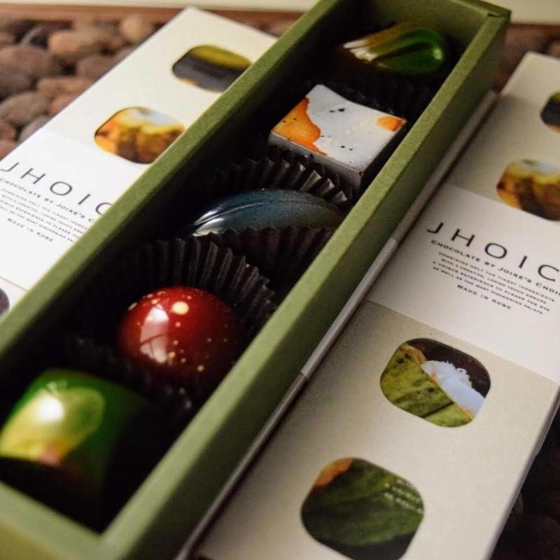 JHOICE chocolat selection 5PBox 『 Herbes & Épice 』