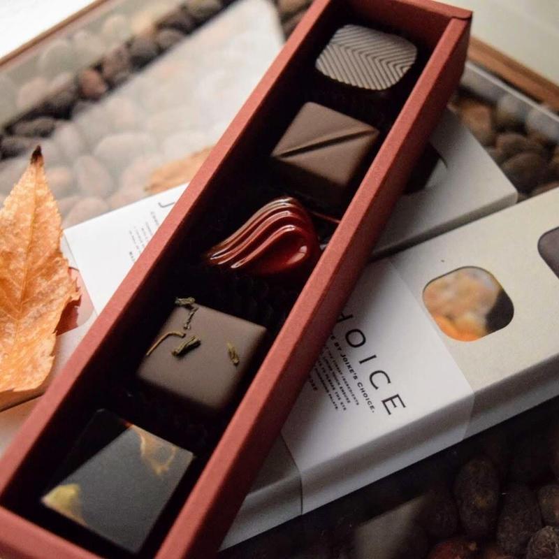 JHOICE chocolat selection 5PBox『 arôme 』