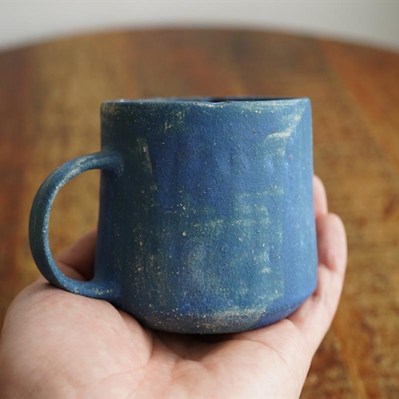 103水谷智美 マグカップ青