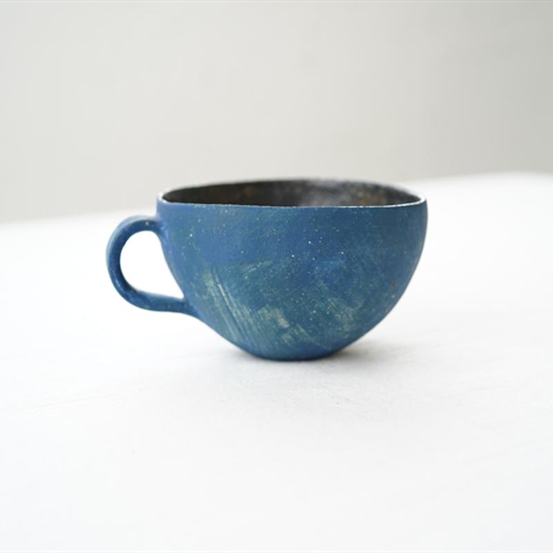 78水谷智美 ティーカップ青