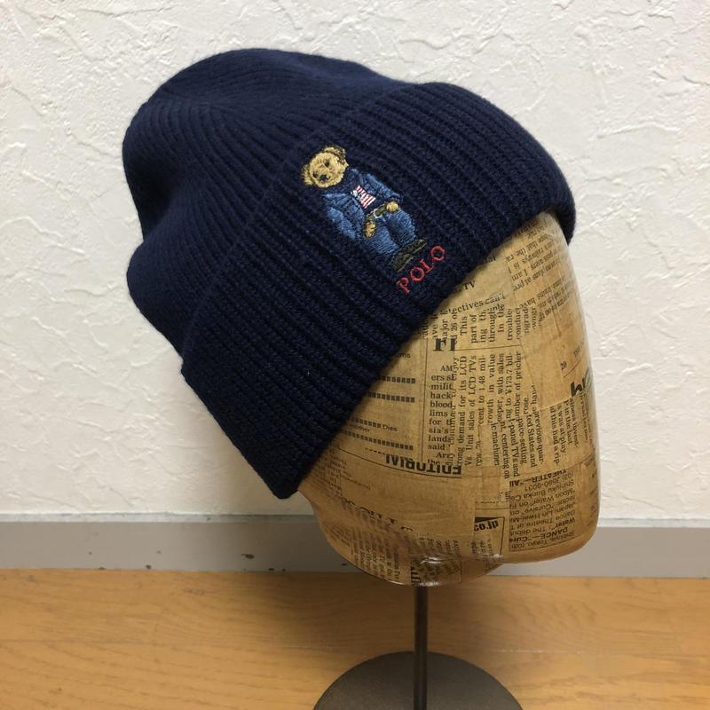 2019年 オススメ☆ POLORALPHLAUREN POLO BEAR ニット帽