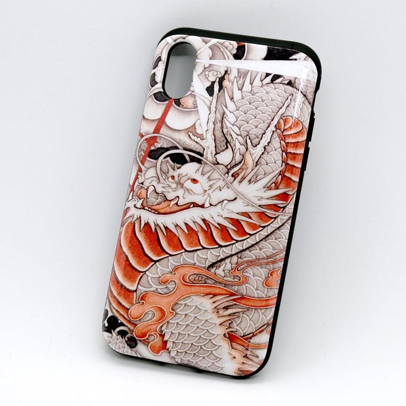 和柄 台風龍 iPhoneXS用ケース