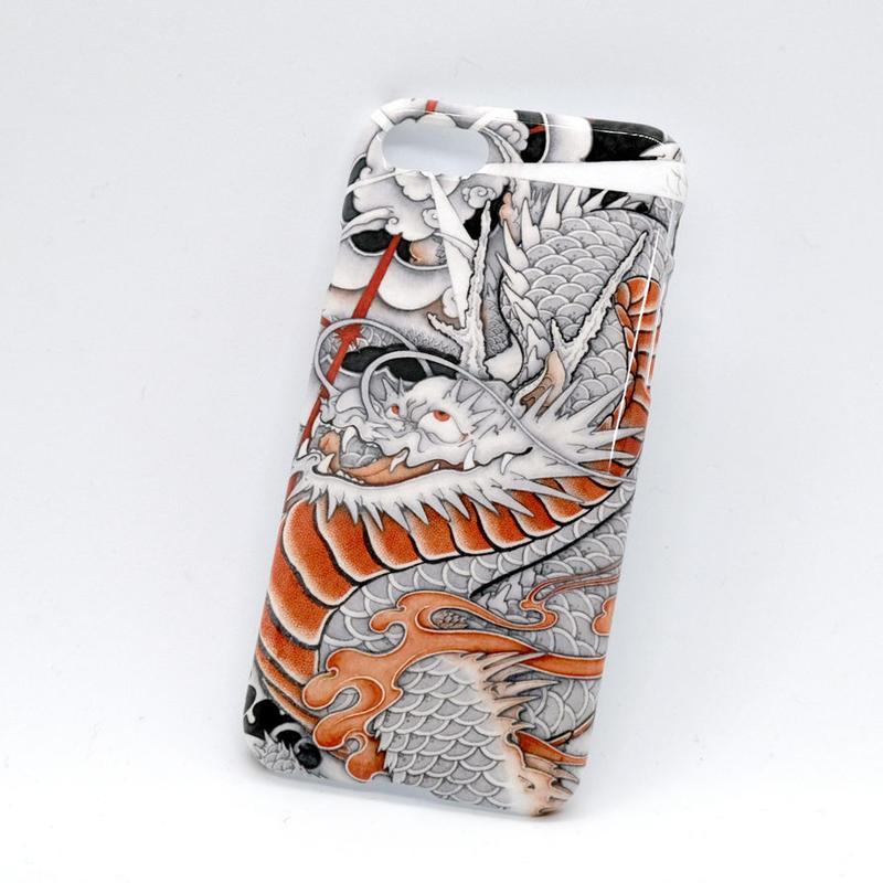 和柄 台風龍  iPhone8用ケース