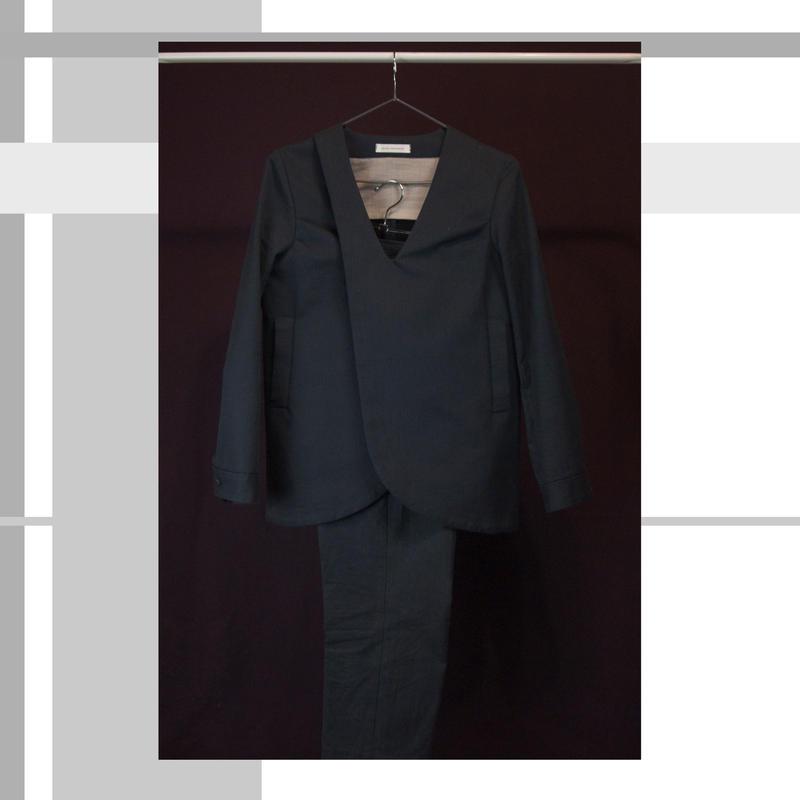 pinstripe cotton jacket