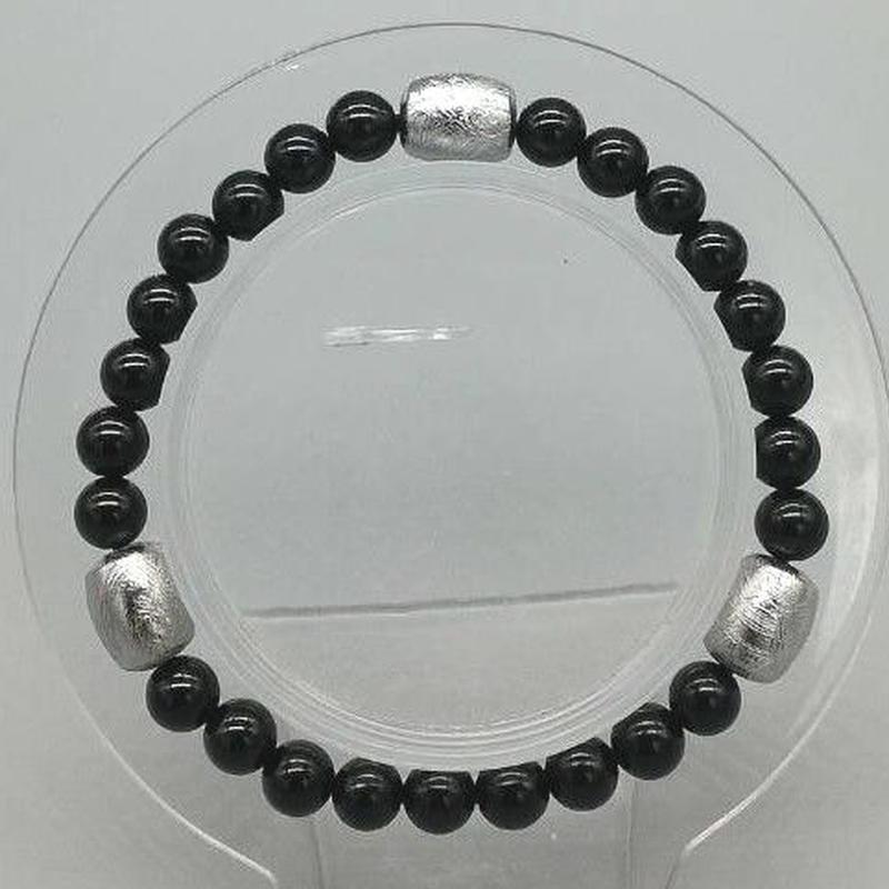 ギベオン隕石樽型ブレスレット