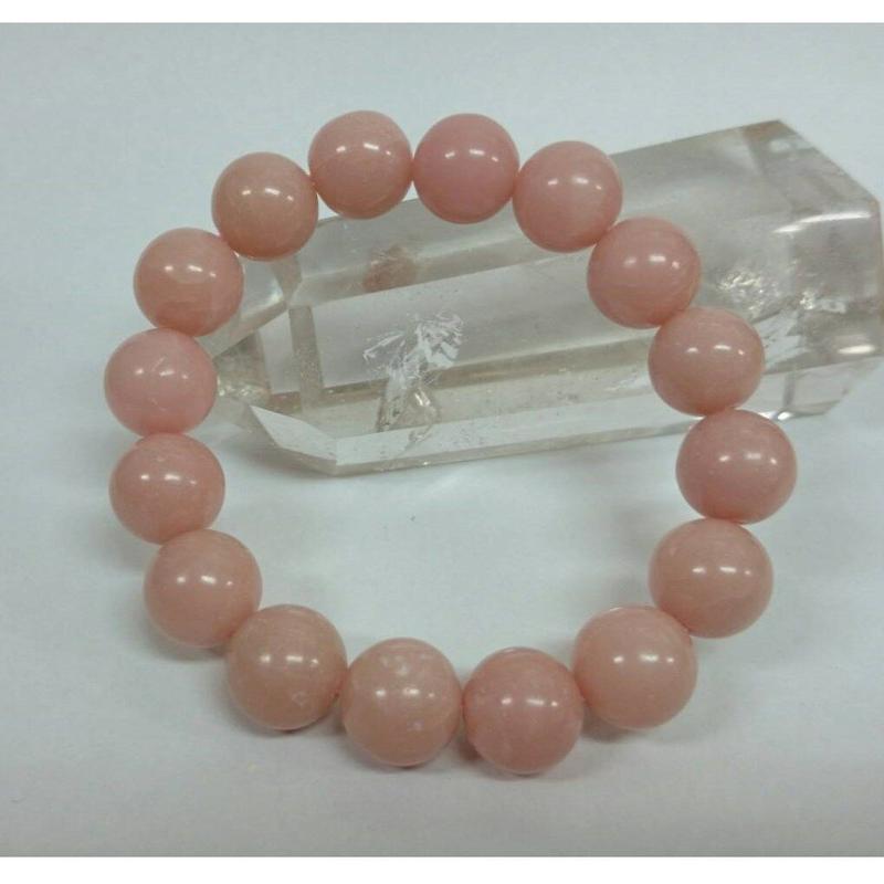 ピンクアラゴナイト12mmブレス