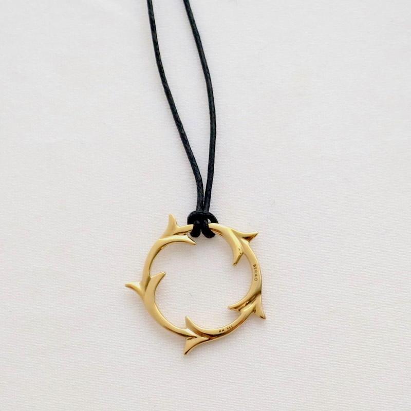 Necklace Yedra 18KYG 01
