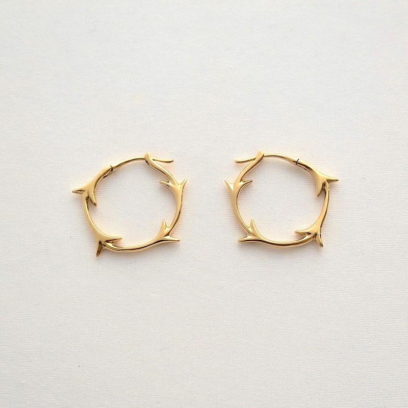Earrings Yedra 18KYG 01
