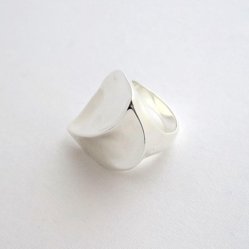 Ring Lirio de Mar Silver 01