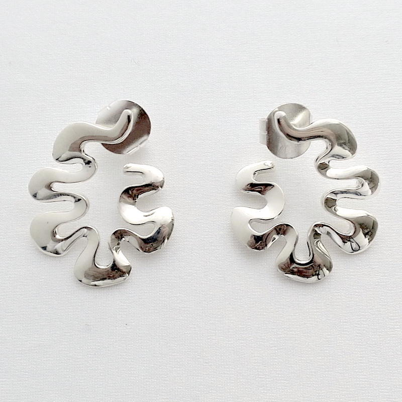 Earrings Poema Silver 03