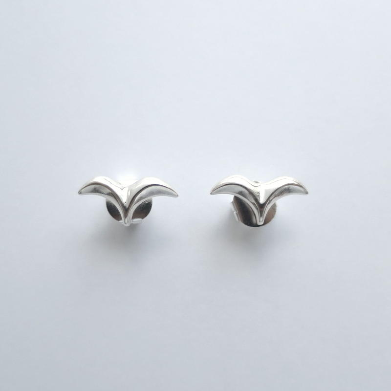 Earrings Sueño Silver 01