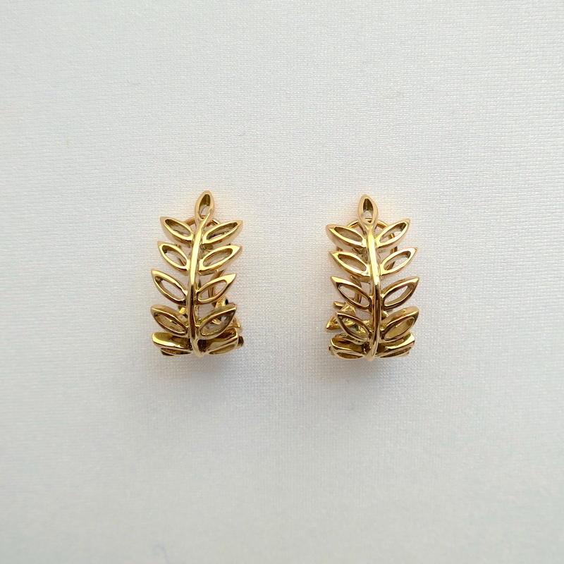 Earrings Soleá 18KYG 01